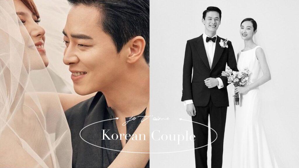 韓國夫妻的婚紗照