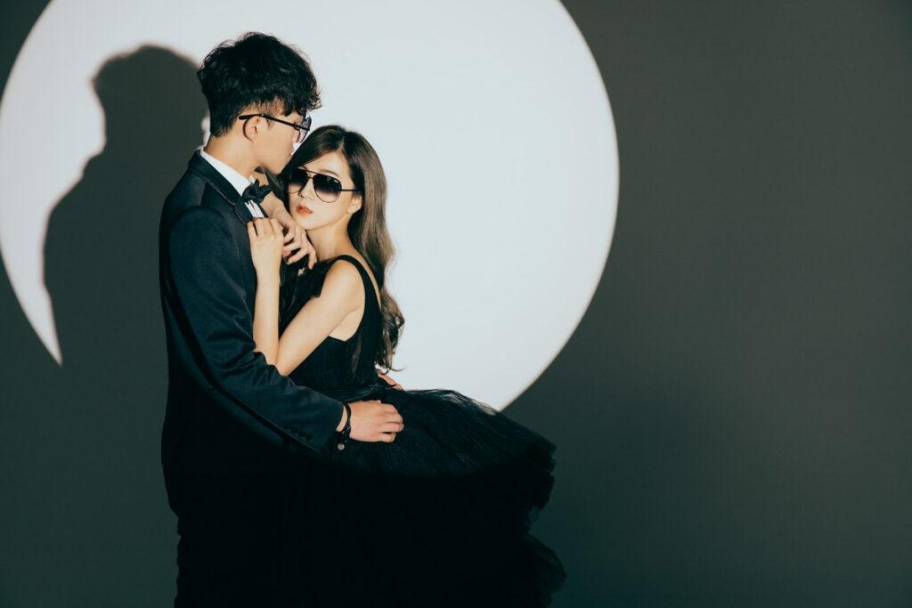 婚紗攝影-鎂光燈下愛情