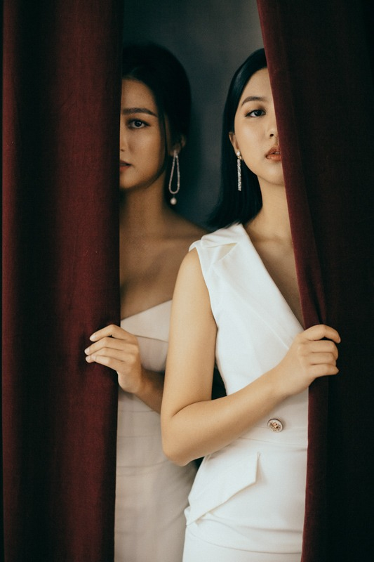 韓式閨蜜婚紗寫真作品