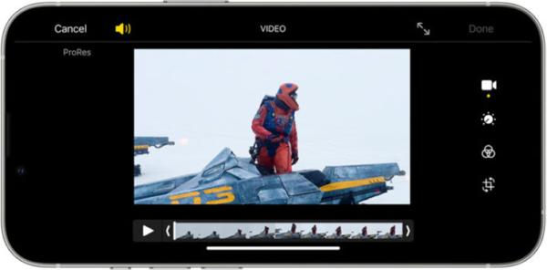 Iphone 錄影視意圖