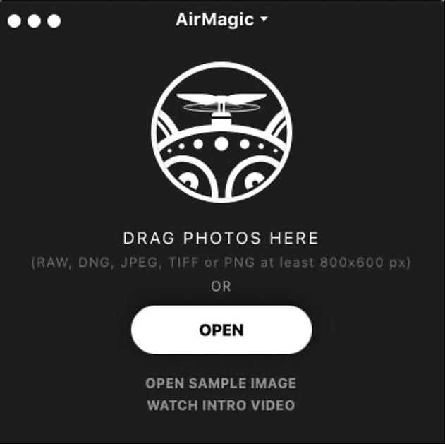 啟用Skylum AirMagic