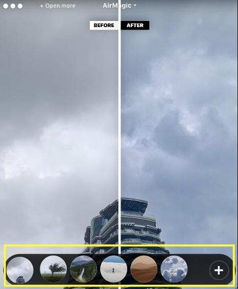 Skylum AirMagic手動調整濾鏡
