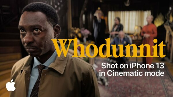Whodunnit   Cinematic mode   iPhone 13   Apple